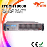 I-Tech8000HD Stereo Dubbel van de Klasse HD - de Versterker van de Macht van kanaalDJ