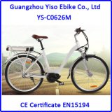 Central MID Drive Bafang Motorized City Lady Electric Bicycle