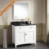 Cabina de cuarto de baño de la vanidad del cuarto de baño de madera sólida de la cereza de Fed-346A mini