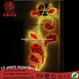 Blumen-2D Seil-Motiv-StraßenlaterneOsten-LED Pole eingehangenes für Ereignisse