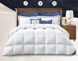 Do luxo dos EUA do ganso Comforter branco padrão para baixo para a HOME