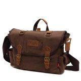 Fabbrica pesante militare del ODM dell'OEM del sacchetto di spalla della borsa del messaggero della tela di canapa (RS-H7032-5)