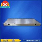 Radiateur en aluminium d'extrusion de plaque refroidie à l'eau pour la station de WiFi
