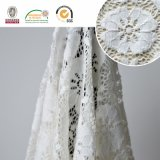 Blumenmuster-Spitze-Gewebe, empfindliche Stickerei, neuester Entwurf für tägliches Kleid und Hochzeit Ls10062