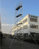 SGS 세륨은 건축을%s 비계 탑을 통과했다