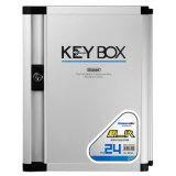 24 caselle di memoria chiave di alluminio della serratura di tasti per la gestione chiave
