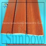 Sunbow 녹 빨간 고열 저항하는 실리콘 섬유유리 화재 소매
