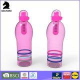 Бутылка питьевой воды проверкы 550ml BSCI уникально пластичная с фильтром углерода