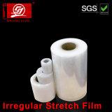 Película irregular do envoltório da película de estiramento da classe LLDPE da mão e da máquina