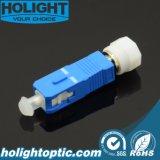 Varón del Sc al simplex óptico femenino del adaptador de fibra de FC