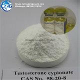 Testosteron Cypionate CAS van het Poeder van Cypionate van de test het Anabole Steroid: 58-20-8