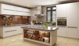 現代シンプルな設計のカスタム食器棚