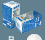 PVC claro impreso que empaqueta los pequeños rectángulos plásticos al por mayor