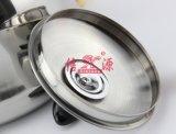 ステンレス鋼蒸気の皿(FT-01202)が付いている笛を吹く水やかん