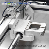 Empaquetadora del vacío de Thermoforming de la pista del aparato médico en película flexible