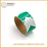 Matériau 3m r3fléchissant prismatique en plastique de rétro bande r3fléchissante de PVC