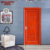 Portello di legno semi solido poco costoso della camera da letto (GSP8-021)