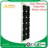 Soalr LED Straßenbeleuchtung mit Bridgelux Chip und mit Cer RoHS IP-65 genehmigt