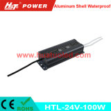 bloc d'alimentation imperméable à l'eau de l'interpréteur de commandes interactif en aluminium continuel DEL de la tension 24V-100W