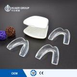 Protectores de boca dentales Moldable de encargo de pulido antis de la noche de los dientes
