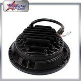 "50W 4800lm 12V-24V Jk LED faro para Jeep Wranger, 7 ""Side Halo faros para Jeep, 7 pulgadas redonda LED luz de conducción para Jeep Wrangler Tj / Cj / Jk / Fj"