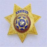 Medaglia d'argento promozionale della polizia del metallo dello smalto
