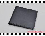 RFID преграждая бумажник человека неподдельной кожи на сбывании!