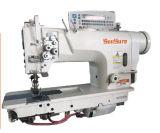 Máquina de coser de alta velocidad con doble aguja