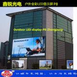 スクリーン表示モジュールを広告するP8屋外LED