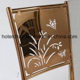 Gold-Plated 패턴 03 스테인리스 로즈 의자 식사