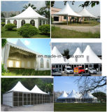 Pagoda Multi&#160 стеклянной стены 6X6m; Purpose Емкость шатров Famiry