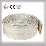 Tubo di irrigazione del tubo flessibile di scarico dell'acqua della tela di canapa del tubo del PVC