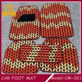 De Mat van de Voet van de Auto van pvc +Fur, de Mat van de Auto