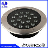 Luz subterráneo redonda de IP67 9W Inground Uplight DMX RGB LED