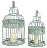Birdcage colgante lamentable antiguo del Chic Set/2