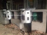 four de fonte de l'admission 1000kgs pour l'alliage de cuivre en aluminium en acier de rebut de fer