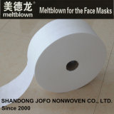 tessuto non tessuto di 24GSM Bfe98% Meltblown per le maschere di protezione