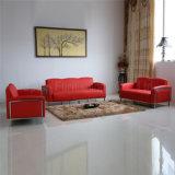 (SP-KS334) Cabina di cuoio rossa moderna del caffè del ristorante del blocco per grafici d'acciaio