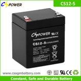 Bateria profunda do AGM do ciclo de Cspower 12V 5ah para UPS, brinquedo eletrônico