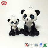Brinquedo enchido do animal de Ssitting do Ce da panda do luxuoso costume macio clássico