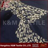 tessuto del voile stampato cotone di 12mm 30%Silk 70% per il vestito dalle donne