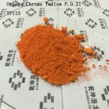 Plástico y Chromeyellow anaranjado usado caucho