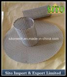 Filtre perforé d'acier inoxydable