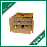 Изготовление коробки бутылки вина упаковывая (FP3004)