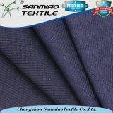 Tessuto della nervatura lavorato a maglia Spandex 2*2 del cotone per gli indumenti