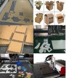Contenitore d'oscillazione di scatola della lama di CNC, cuoio, stuoia dell'automobile, stuoia del piede, tagliatrice di figura della scatola