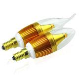 Bulbo de la vela de la viruta 98ra C35 E14 5W 400lm del CREE (leisoA)