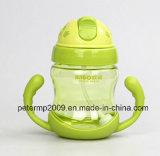 280ml BPA liberano la bottiglia di acqua della paglia con il marchio su ordinazione e colorano (hn-2905)