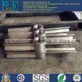 Pièces de usinage anodisées certifiées de commande numérique par ordinateur d'aluminium d'OIN 9001