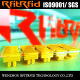 Tag programável da lavanderia da freqüência ultraelevada da resistência 860-960MHz